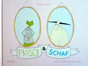 Buchpaten: Frosch und Schaf